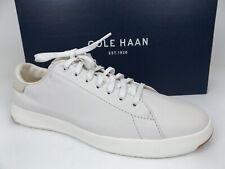 Cole Haan Mens GRANDPRO Tennis White Leather Fashion Sneaker SZ 10. M, NEW 18348