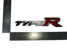 TYPE R EMBLEMS BADGE LOGO DECALS PLATE HONDA CIVIC JAZZ CITY ACCORD STICKER JDM