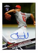 Luke Weaver MLB 2017 TOPPS CHROME Rookie autographes (St. Louis Cardinals)