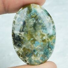 48ct Natural Fossils Design Crack Jasper Multi Oval Cabochon From Africa AO51