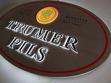 New Trumer Pils Austria Salzburg Brauerei Berkeley Led Neo Opti Light Beer Sign