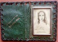 Piccolo quadretto Madonna dell'Oasi con custodia 5,4 x 3,8 cm (165)