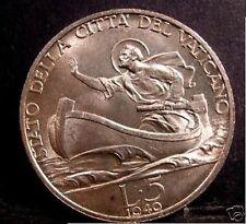 VATICANO PIO XII 5 Lire AG 1940 FDC (UNC)
