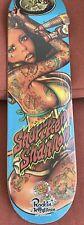 Rockin jelly Bean Santa Cruz Skateboard Eight Powerply Shuriken Shannon New