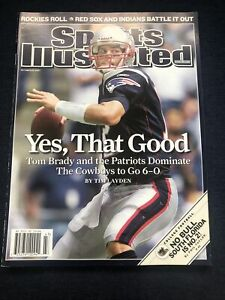 SI: Sports Illustrated October 22, 2007 Yes, That Good: Tom Brady, Patriots, VG