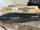Align T-Rex 550E RC Helicopter Carry Bag Case Black HOC55001 + Battery Pouch