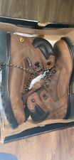 Wolverine Men's Work Boots Steel Toe Waterproof Brown Size 12 M Never worn Nwt