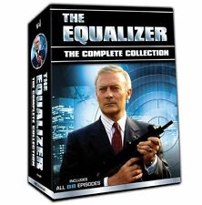 The Equalizer: The Complete Collection - Seasons 1-4 (DVD, 2016)