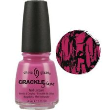 China Glaze Crackle Nail Lacquer Broken Hearted ( Pink ) 14ml