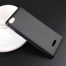 For Wiko Fever 4G Fever 3G Black TPU Matte Soft Gel skin case cover