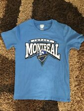 Montreal Impact MLS Youth Soccer Shirt Medium 10/12 NEW