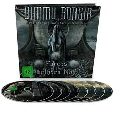 DIMMU BORGIR-FORCES OF THE NORTHERN NIGHT LIMITED EARBOOK 2BLU-RAY+2DVD+4CD NEU