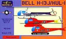 New ListingLf Models 1/72 Bell H-13J Hul-1 Helicopter 3 American Versions