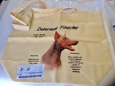 New Cafe Press Large Fawn Isabella Doberman Khaki Tote Bag