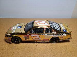 2001 Dale Earnhardt Sr #3 GM Goodwrench 24KT Gold 1:24 NASCAR Action *NO BOX*