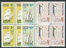 TOKELAU 1970 Ships set in blocks of 4 MNH.................................41664