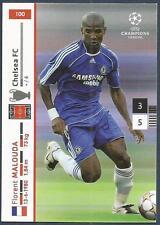 PANINI UEFA CHAMPIONS LEAGUE 2007-08- #100-CHELSEA & FRANCE-FLORENT MALOUDA