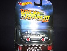 Hot Wheels DeLoream Time Machine Back to the Future 1955 Part 3 BDT77-996K 1/64