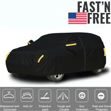 190t Full Suv Car Cover Waterproof Protection Dust Outdoor Sun Uv Universal Fit Fits Jeep