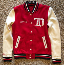 Detroit Red Wings Mitchell and Ness Women's Varsity Jacket Small
