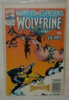 Vintage Marvel Comics Presents Wolverine and Constrictor 1992 Comic Book X-Men