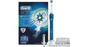 Oral-B Smart Series 4000 Crossaction Electric Toothbrush New