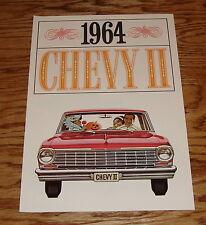 Original 1964 Chevrolet Chevy II Sales Brochure 64