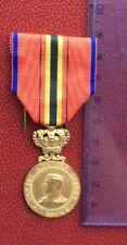Congo Belge  -Superbe  Médaille de la  société royale des Sauveteurs -Albert 1er
