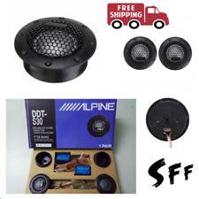 ALPINE DDT-S30 Car Stereo Speakers Music Soft Dome Balanced Car Tweeters 360W .