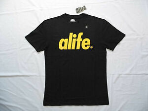 Alife - Core Logo Tee Shirt - Various Sizes - New with Tags - Black