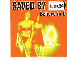 (FR927) Saved By Zero, Believe In U - 2008 DJ CD