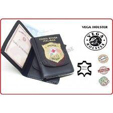 Portafoglio Portadocumenti Con Placca CRI Croce Rossa Italiana Vega Holster Ital