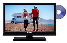 Telefunken XF22D101VD LED Fernseher 22 Zoll Full HD TV DVB-C/-T2/-S2 CI+ 12 Volt