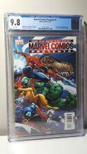 Marvel Comics Presents 1 CGC 9.8 WP 1st Koslowski story; JSCampell cover (2007)