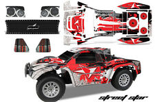 RC Body Graphics Kit Decal Sticker Wrap For Helion Dominus 10SC Truck STSTAR RED