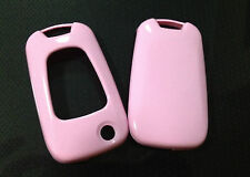 GLOSSY KITTY PINK PLASTIC FOB KEY REMOTE PROTECTIVE SHELL CASE COVER FOR KIA