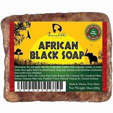 Jabón Negro Africano Orgánico Acné Piel Seca Irritación Cicatrices Quemaduras