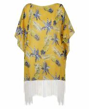 ce941be3ec Women Beach Cover Up Summer Kaftan Pineapple Print Fringe Ladies Sarong One  Size