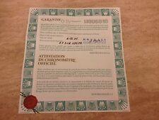 Rolex 18ct Pearlmaster 69318 papeles de garantía 1995 Suiza