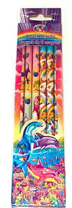 Lisa Frank 6 Pack Of Pencils