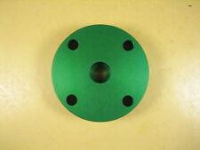 "Optical Mounting Plate  2-1/2"" DIA x 5/8"" THK  1/4"" Holes"