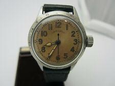 Vintage WW2 Military Hamilton Hack System Wrist Watch. Serviced