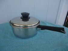 raco stainless steel saucepan with vented lid