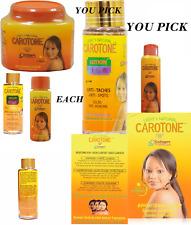 CAROTONE LIGHT&NATURAL SKIN PRODUCT  (YOU PICK) CHOOSE YOUR ITEM SEPARATE
