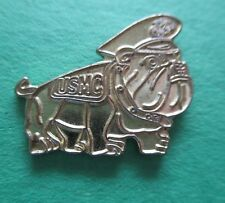 Sgt. Chesty USMC Bulldog - Marine Corps Lapel Pin