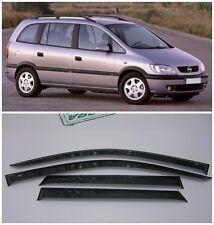 For Opel Zafira A 2000-2005 Side Window Visors Sun Rain Guard Vent Deflectors