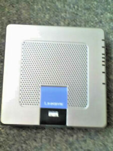 Linksys Model No. WAG354G WIRELESS-G ADSL MODEM ROUTER - WITH EU PSU - GC - USED