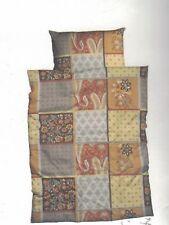 Perkal Bettwäsche Set Judy  Mustermix im Patchwork-Look 135 x 200 cm + 80 x 80