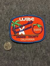 Vintage Wibc Orange County California 1986 Championship Bowling Patch Mint