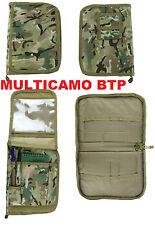 KOMBAT MULTICAMO BTP A5 FOLDER NOTEBOOK NOTEPAD MAP POUCH- OVERS BOOK COVER MTP